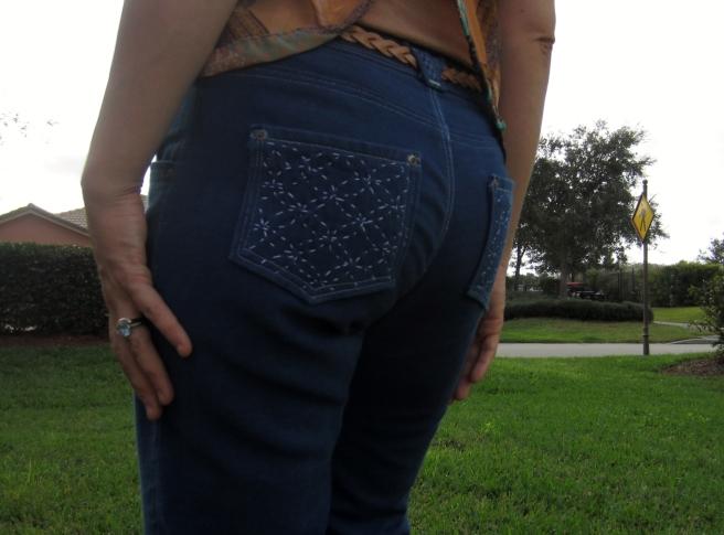 Indigo Dyed Jeans- Sew Pomona