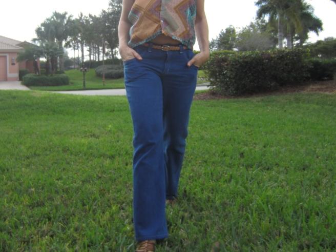 Indigo Dyed Jeans Sew Pomona