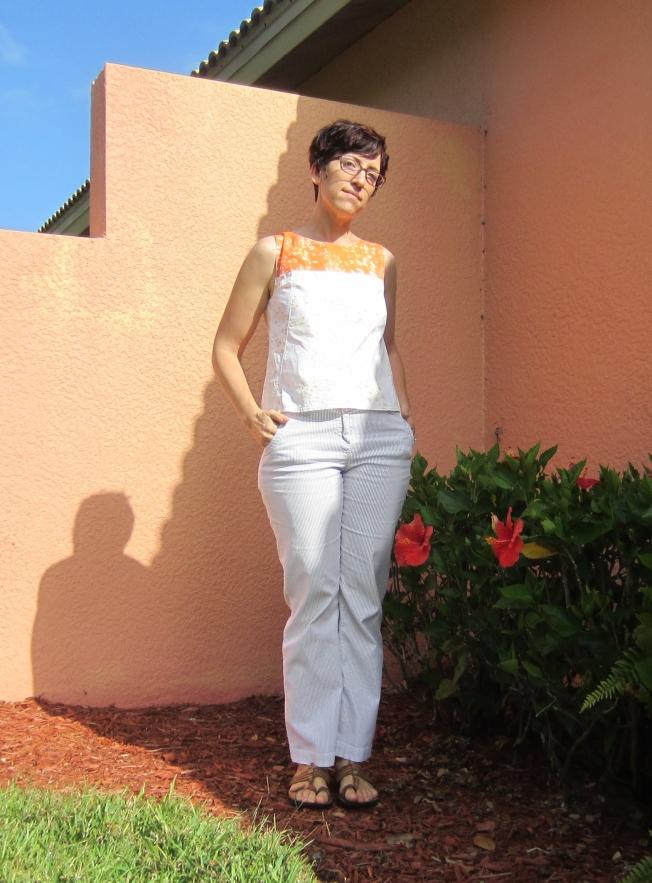 Miss Bossy Patterns winner- two new versions of V1382- Sew Pomona