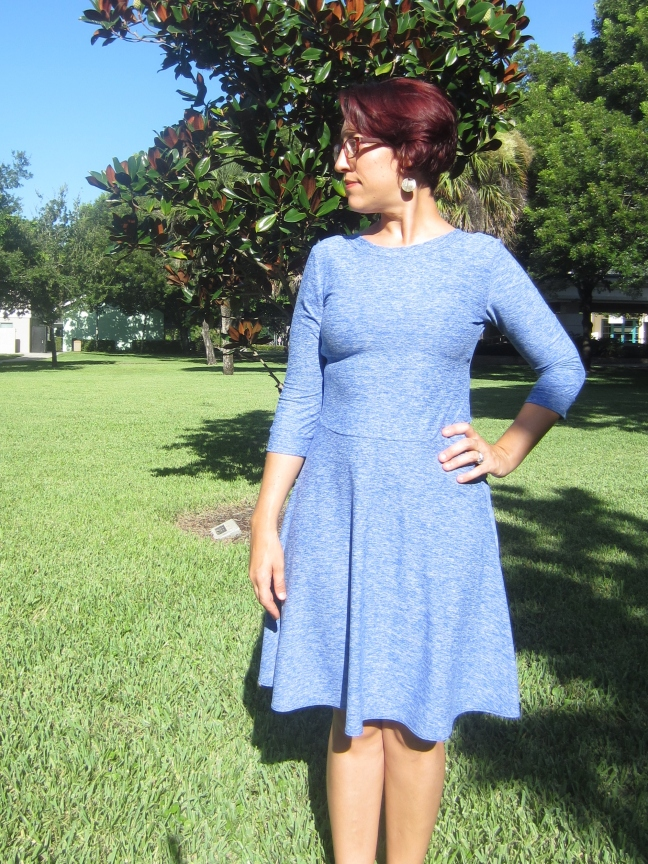 Comfort Dressing- Another Skater Dress
