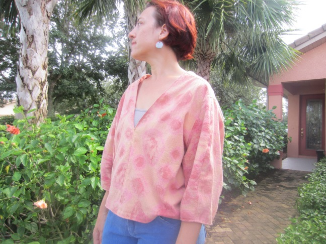 Shell Wrap Shibori Jacket Burda 117 02/2014