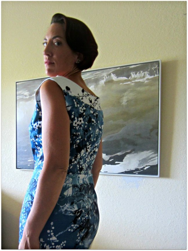 Vintage Vogue Blooming Dress