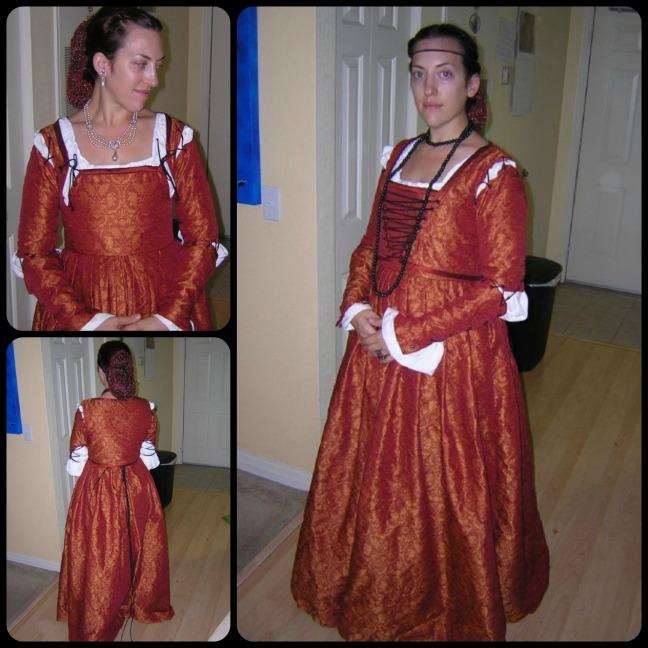 LadywithErmine- Halloween 2009 Sew Pomona
