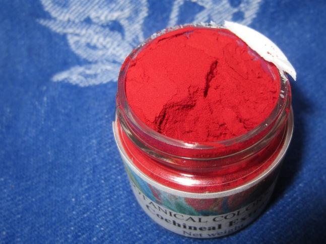 Cochineal Dyeing, Sew Pomona